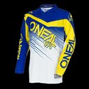 O`Neal ELEMENT Youth Jersey RACEWEAR blue/yellow M