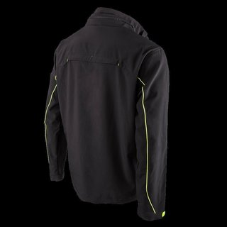FREERIDER Soft Shell Jacket black/yellow